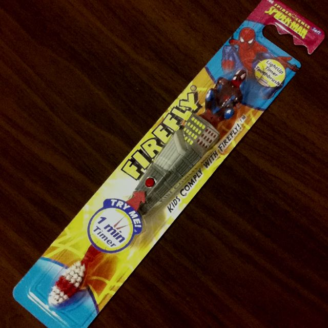 Spider toothbrush