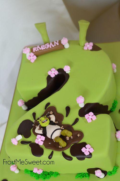 Fabulous Shrek Girl Girls Birthday Cake By Frost Me Sweet With Images Funny Birthday Cards Online Benoljebrpdamsfinfo