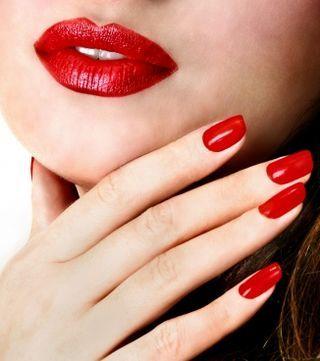 Makeup Clothing And Matching Red Nails Red Nail Varnish