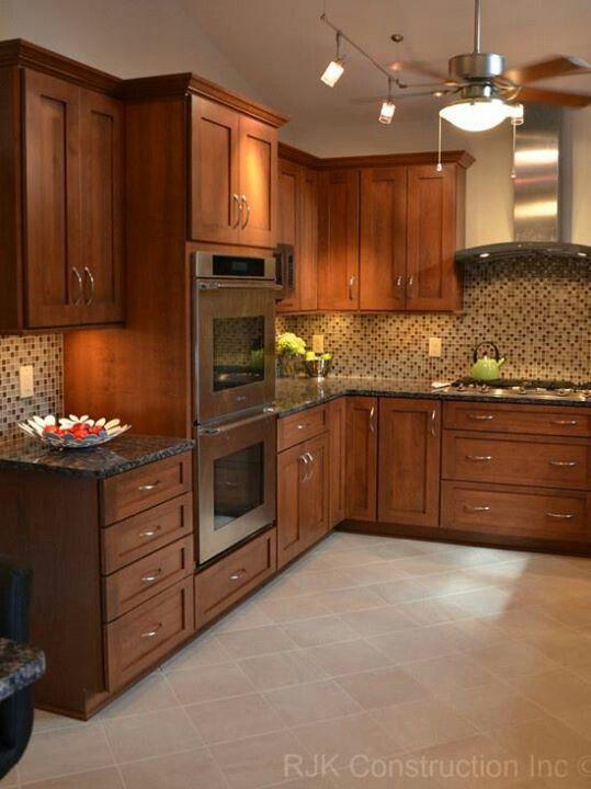 Cocina cocinas cocinas cocinas modernas y muebles de for Cocinas enchapadas