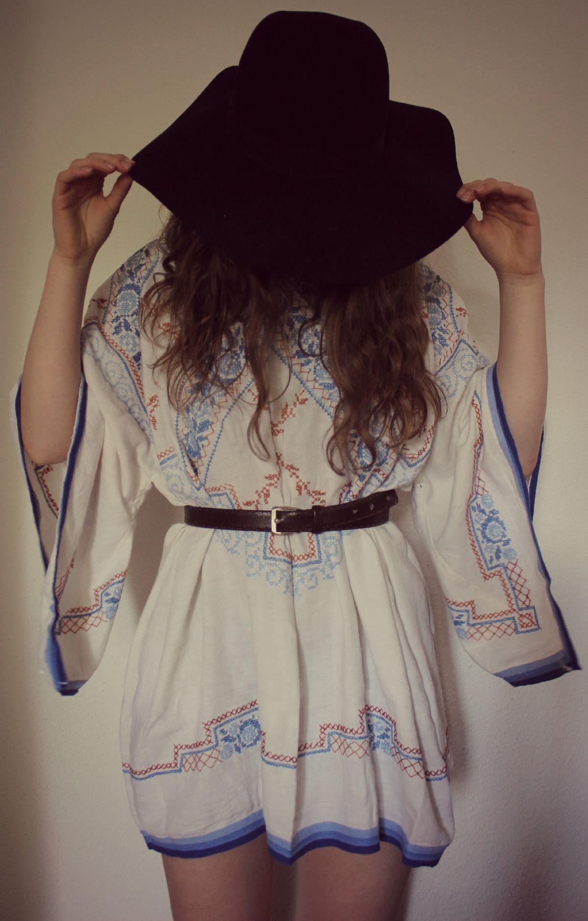hippie - / boho - diy (kleid)   modestil, trendige outfits