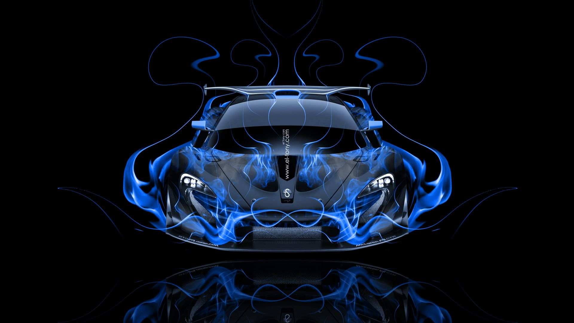 blue mclaren p1 wallpaper - photo #36