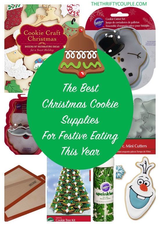 Ultimate List of Christmas Cookie Decorating Supplies | Pinterest ...