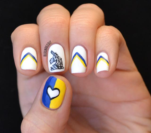 Boston Marathon Nail Nails Nailart Nail Art Blog Nails Boston Marathon