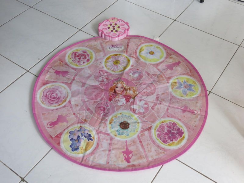 Barbie 12 Dancing Princess Musical Dance Mat Toys Indoor