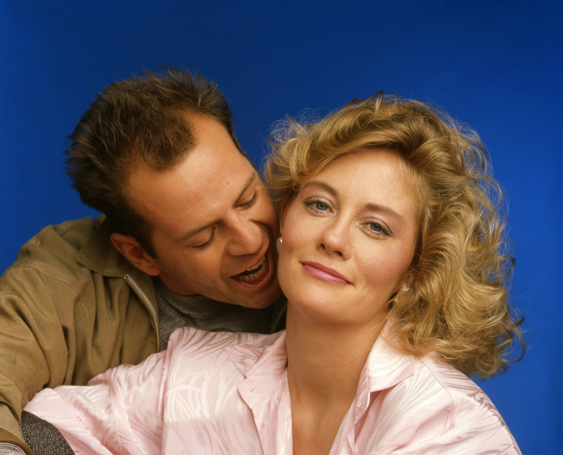 bruce willis cybill shepherd cool people in color and background photos of maddie and david for fans of moonlighting images 12544637