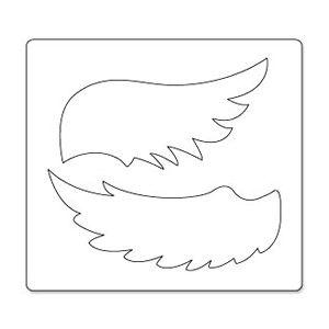 sizzix bigz die wings angel sizzix pinterest engelsfl gel silhouetten und kommunion. Black Bedroom Furniture Sets. Home Design Ideas