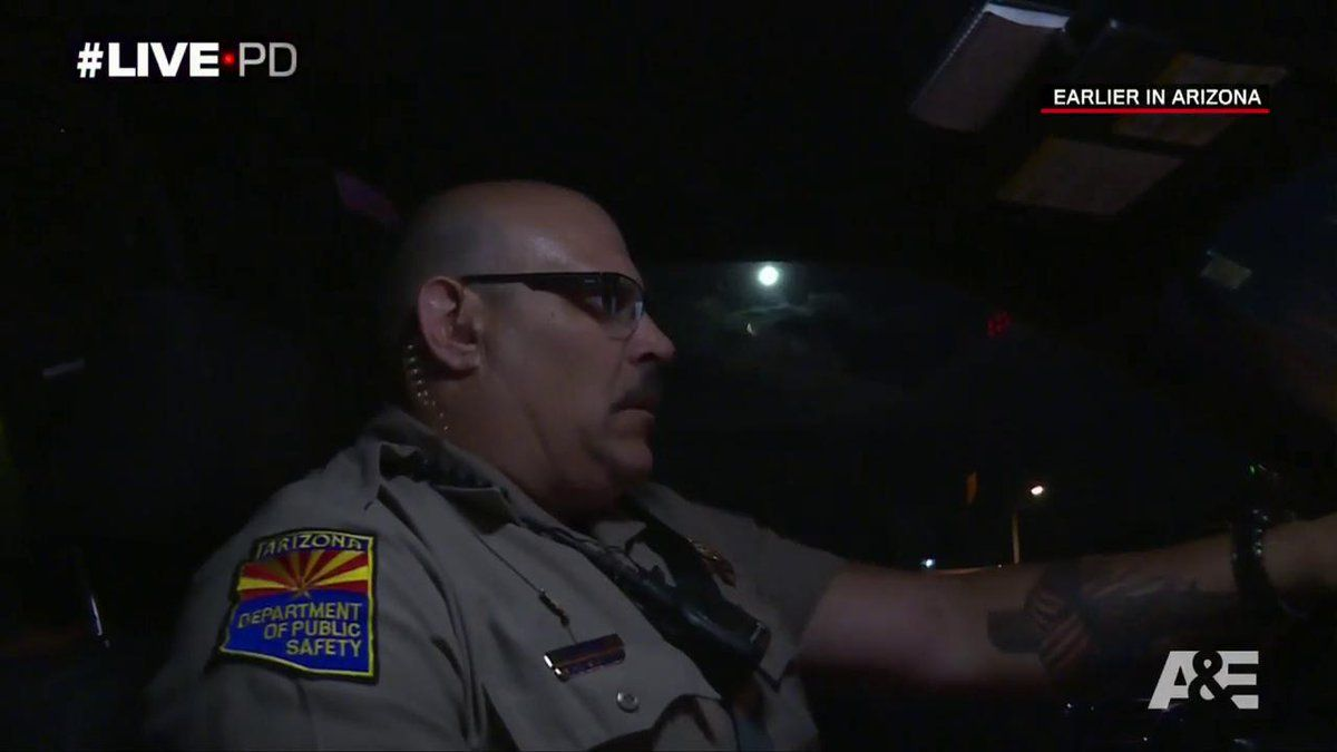 Trooper Todd Poole from Arizona | Live PD | Police officer