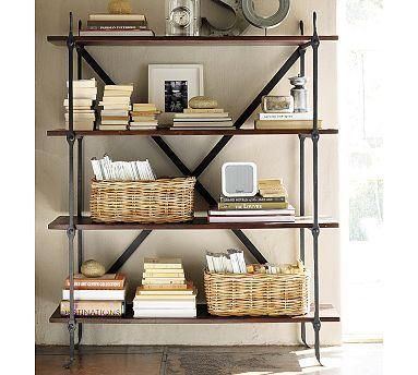Suzie Storage Furniture Benchwright Bookcase Pottery Barn