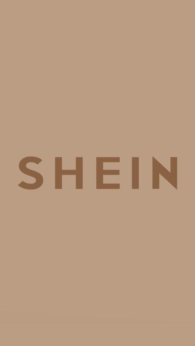 shein logo aesthetic beige