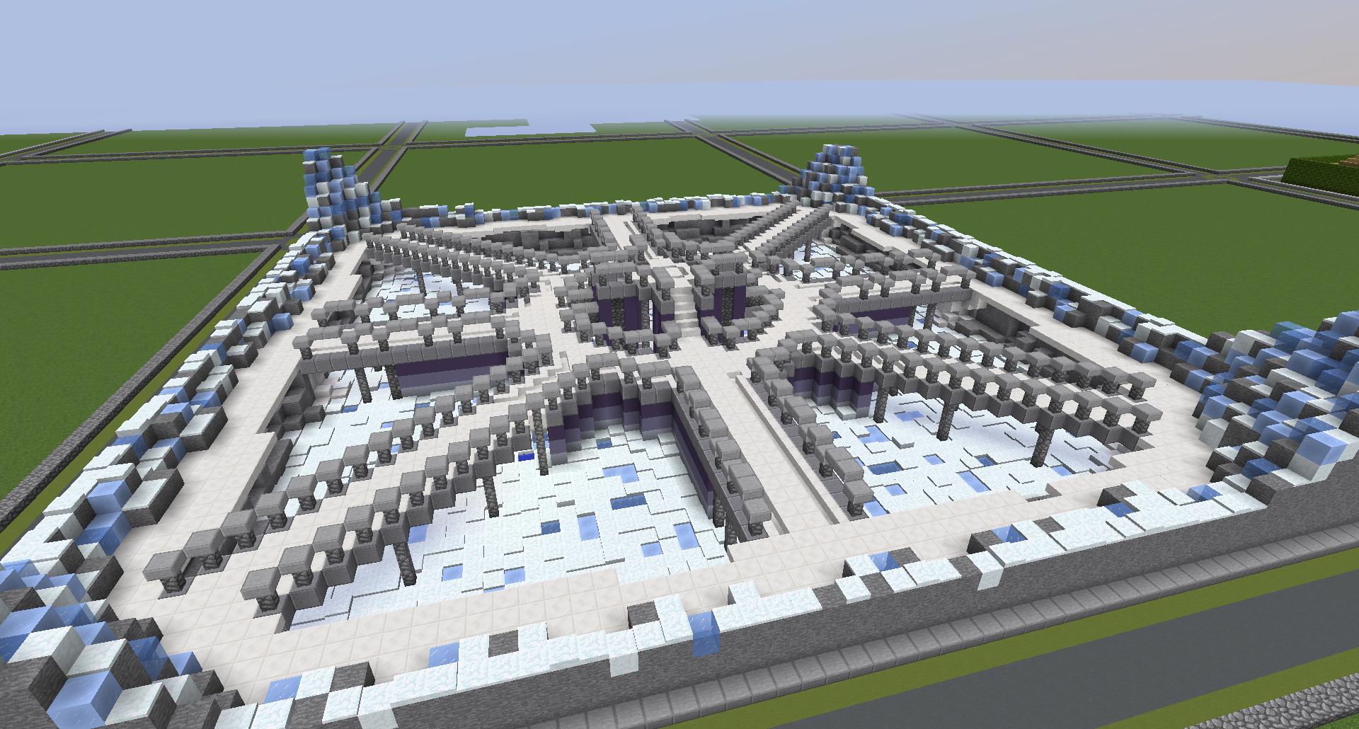 minecraft #building #builds #fantasy #hub #lobby
