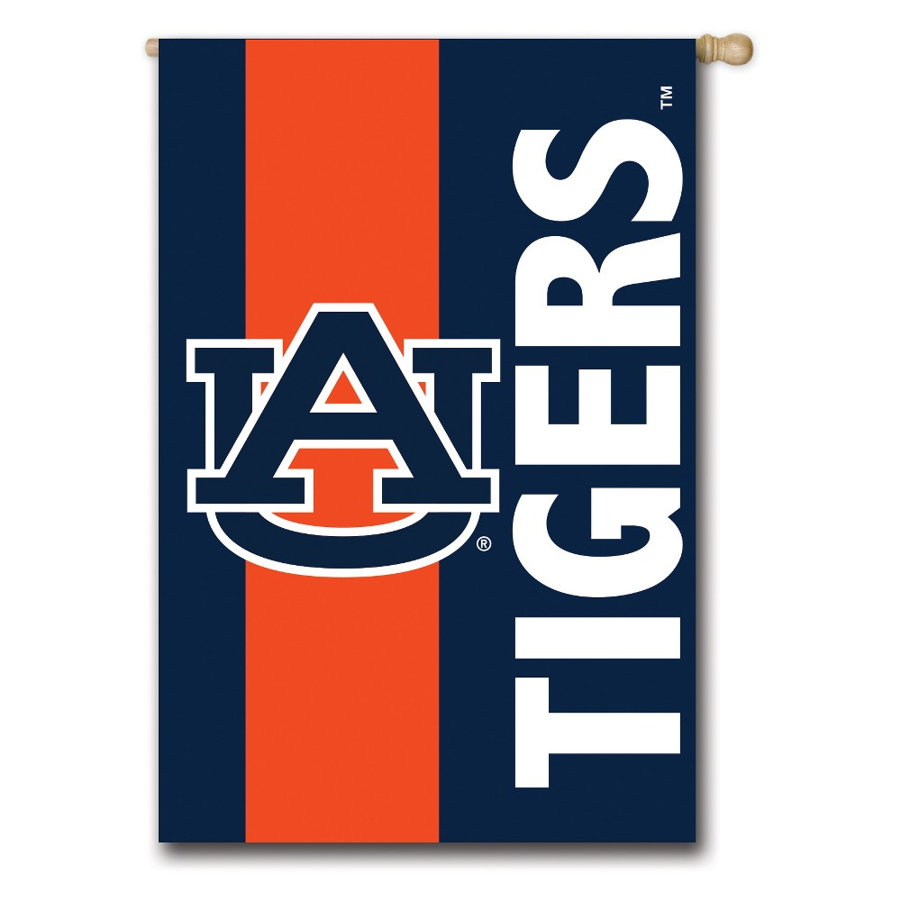 Auburn Tigers Embellished House Flag In 2020 House Flags Unique Flags Fabric Flags