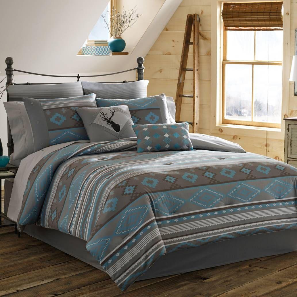True Timber Southwest Reversible Comforter Set Luxury Bedding
