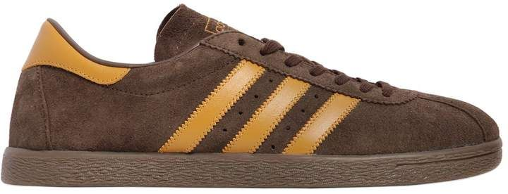 15a0950d47edbf adidas Tobacco Suede   Leather Sneakers