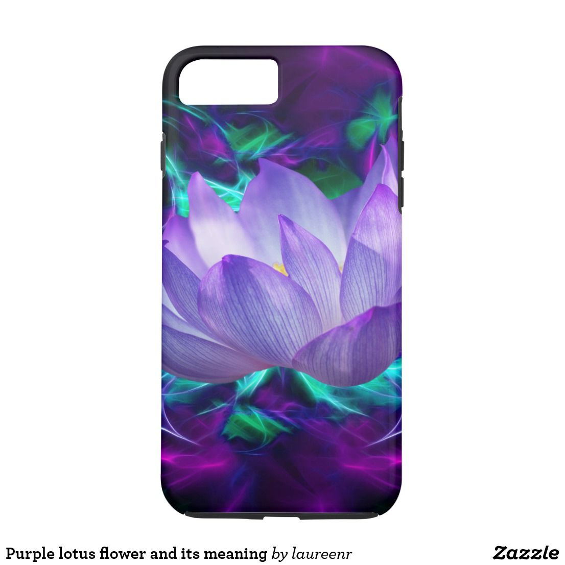 Purple lotus flower and its meaning iphone 8 plus7 plus case mightylinksfo