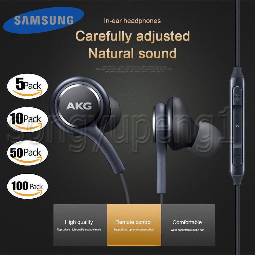 Headset Handsfree Samsung S8 Plus By Akg Original 100 Daftar Hf Earphone Design Premium Oem Galaxy S9 Note 8 Earbuds Headphones Stereo In Ear
