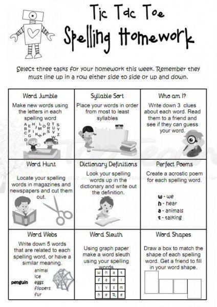 fun homework games