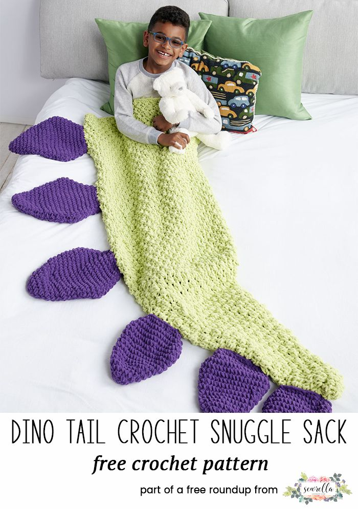 Crochet Snuggle Sacks For Kids And Adults Sewrella Pinterest