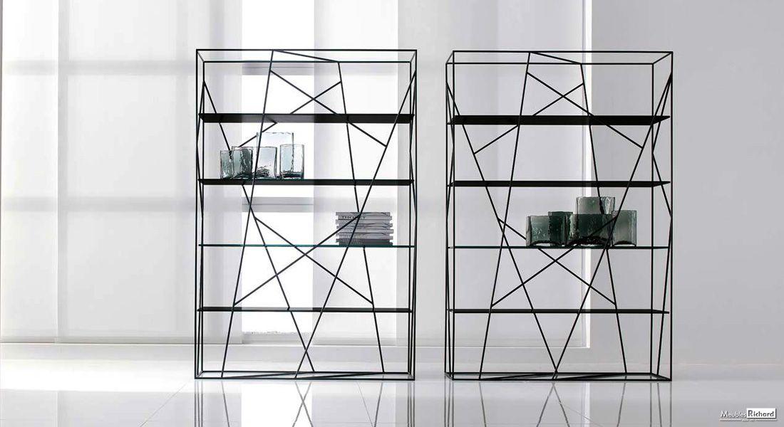 Bibliotheque Design Tonin Casa Magasin De Meubles Meuble Design Mobilier De Salon Meuble Haut De Gamme