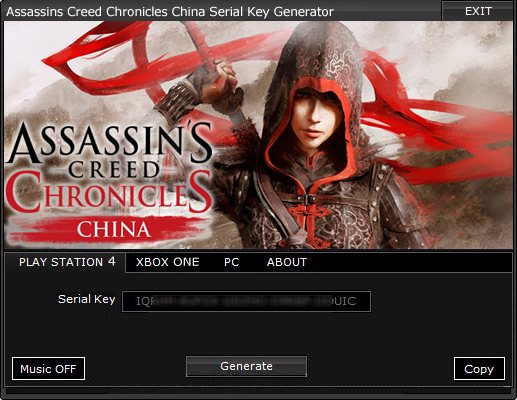 Assassins Creed Chronicles China Serial Key Generator Pc Ps4 Xbox One Hacksbook Assassin S Creed Chronicles Assassins Creed Game Assassins Creed