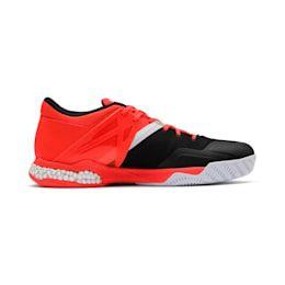 PUMA Explode XT Hybrid 2 Handball Shoes in BlackWhiteRed