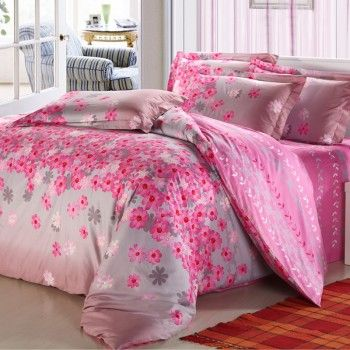 This Garnet Hill Bedding Sets is tropical design is fresh with a bit of village charm thrown in. This romantic garden bedding sets brings a breath of air new life into any bedroom. You will sleep like a Queen when dressing your bed in the flower bedding sets. This red, gray and pink bedding is consists of 300 thread count cotton; This flower bedding sets achieves a warm look with delicate details .