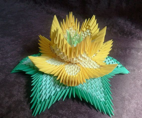 Tutorial how to make 3d origami lotus flower zuknftige projekte tutorial how to make 3d origami lotus flower mightylinksfo