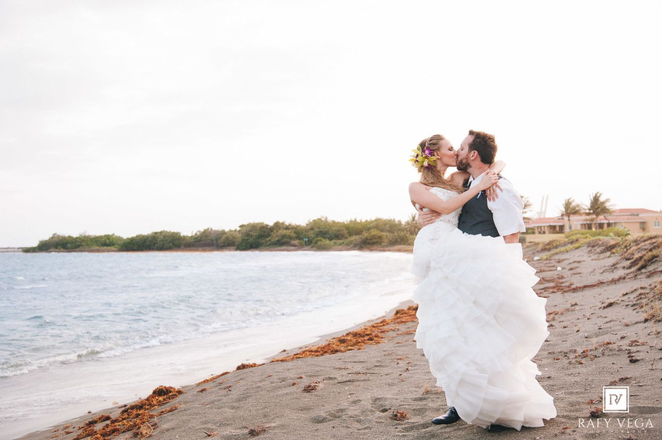 Destination Wedding At Costa Caribe Golf Country Club Ponce Hilton Hotel Kristen Beach Wedding Pics Puerto Rico Wedding Photographer Destination Wedding