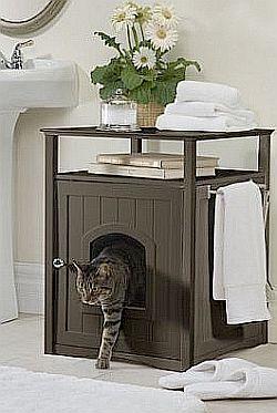 Hidden Cat Litter Box And Covers