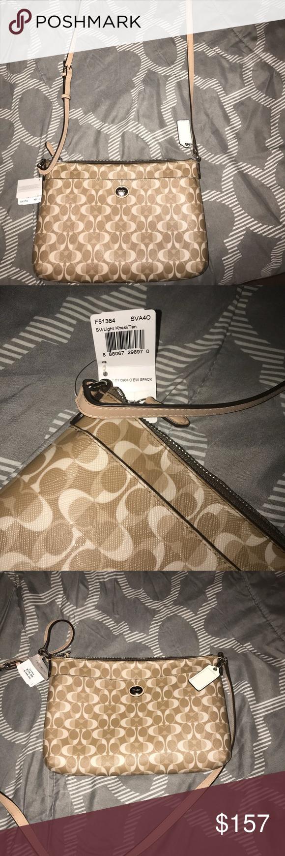 Coach crossbody nwt my posh picks pinterest designer handbags