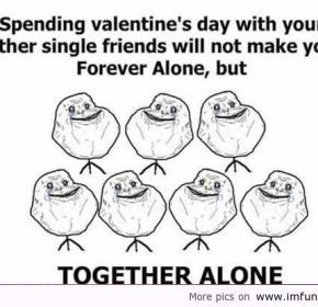 Funny Alone Valentines Day Quotes Quotesvsfun Com Valentine S Day Quotes Valentines Day Messages Quote Of The Day