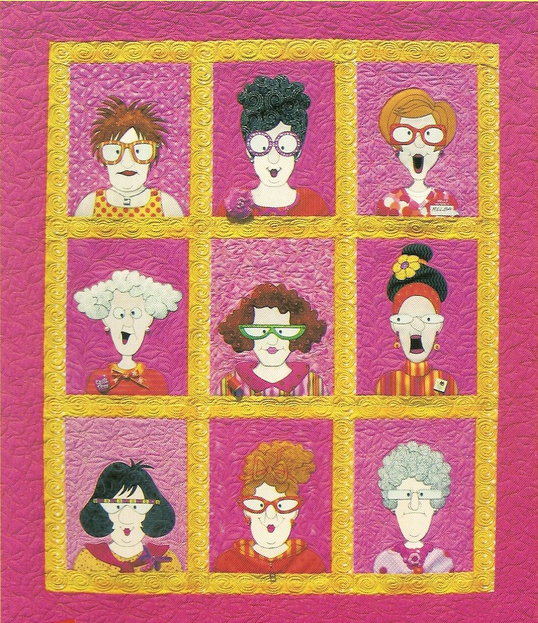 Make Your Own Quilty Friends With The 35 Page E Pattern
