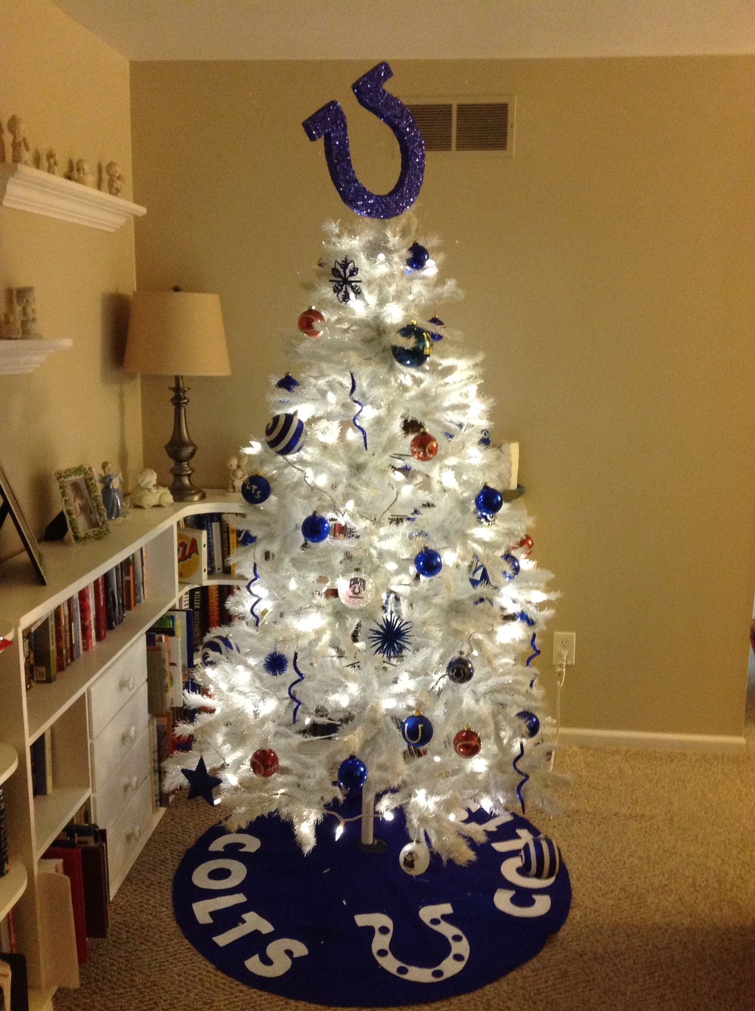 Colts Christmas Tree 2014 Christmas Goodies Christmas