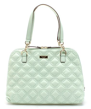 4b72cbc284ee Love this Faded Mint Astor Court Leather Shoulder Bag by Kate Spade on   zulily!