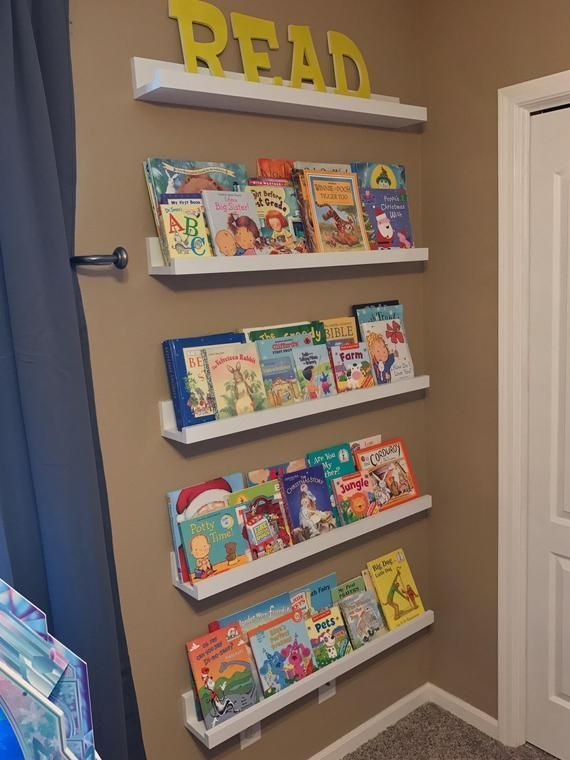 17 Awesome Bookshelves Storage Idea For Kids Bookshelves Diy Bookshelves Kids Kids Wall Shelves