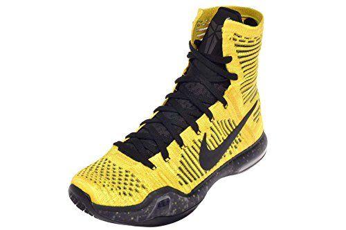 competitive price d1fd2 651aa Nike Men s Kobe X Elite Coda, TOUR YELLOW BLACK-VOLT, 8 M