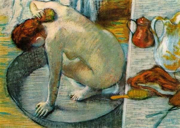 EN IMAGES – Le bain dans les oeuvres d'art | The natural, Pastel ...