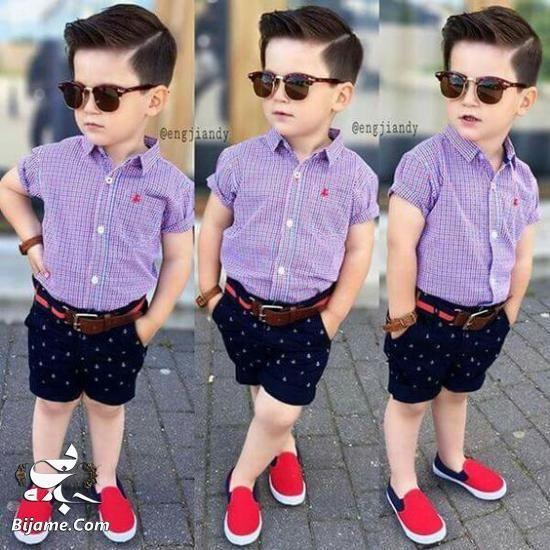 لباس بچه گانه پسرانه 2020 - لباس پسرانه شیک