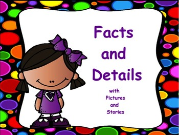 Teacher Made Reading Resource Kit Comprehension Center Recalling Facts /& Details