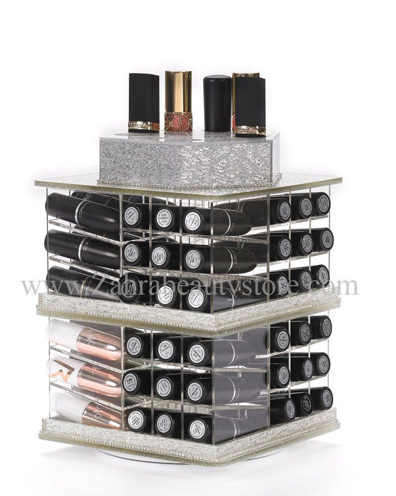 The Spinning Lipstick Tower Lipstick holder, Lipstick