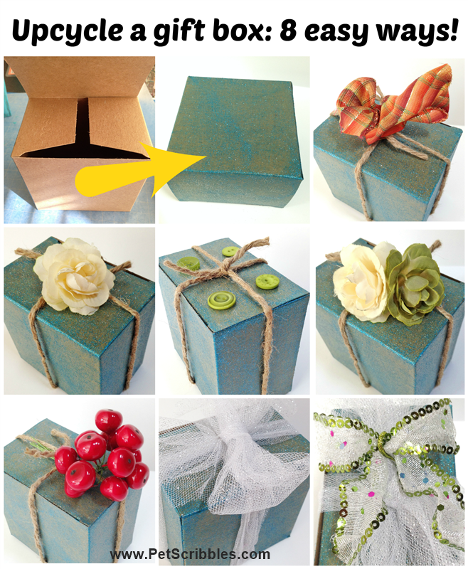 Decorate gift box ideas 8 easy ways! Deja Vue Designs