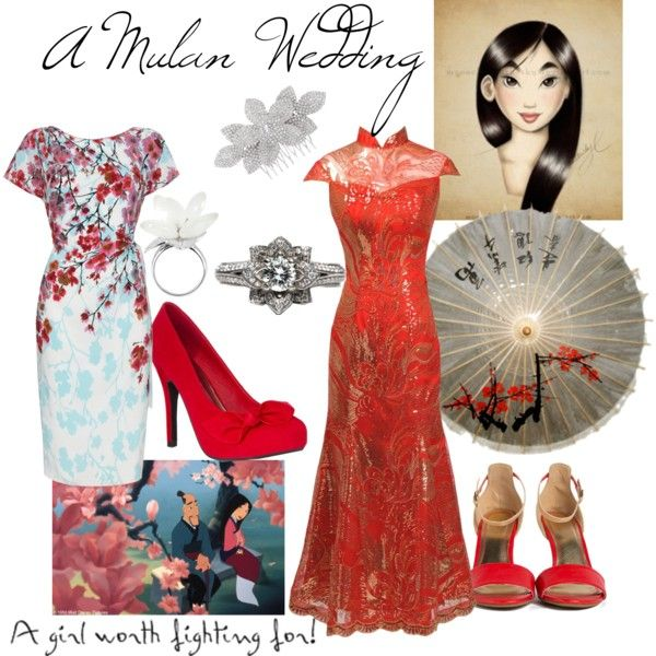 A Mulan Wedding Disney Inspired Wedding Wedding Dress Styles