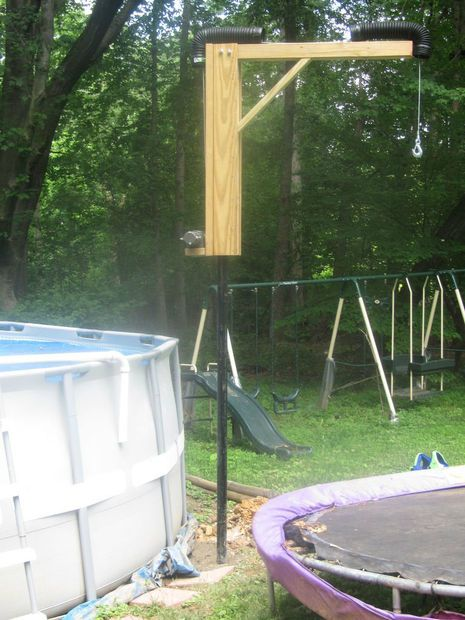 Above Ground Pool Lift In Ground Pools Above Ground Pool Swimming Pool House