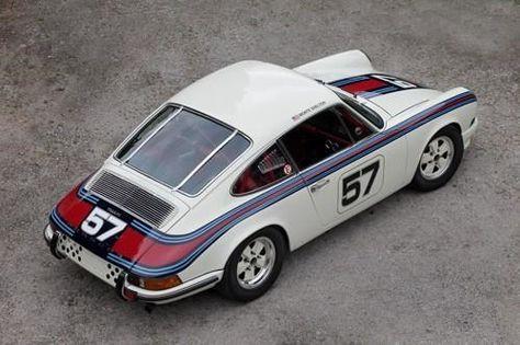 1969 PORSCHE 911 Martini
