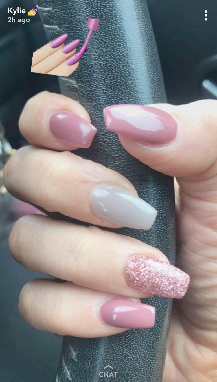 Home Blend Of Bites Jelly Nails Sparkly Nails Nails