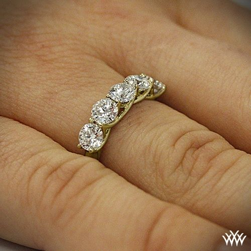 5 Stone Trellis Diamond Right Hand Ring 2334 Gold Diamond Wedding Band Unique Engagement Rings Diamond Wedding Bands