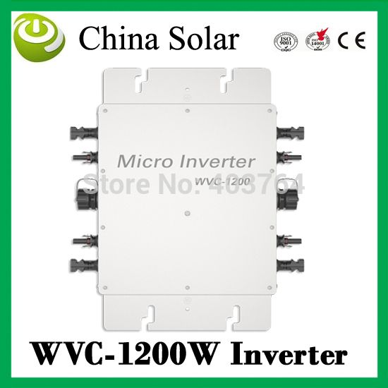 Home Solar Plant Low Cost Inverter 1200w Easy Installation Maintenance 1200w Micro Inverter Solar System Solar Inverter Solar Panel Inverter Solar