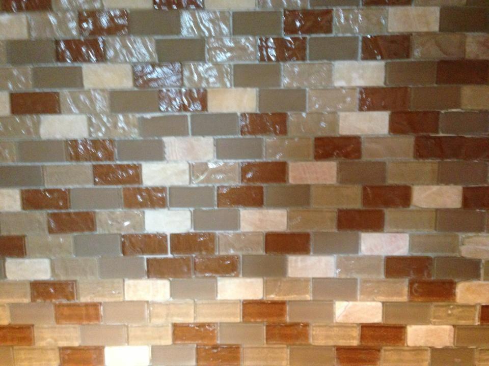 New Tile backsplash!