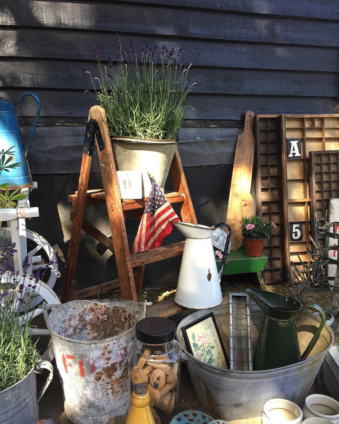 """Virtual Vintage Fair on Instagram: """"Howdy doody folks! Rachel @little_bee_homestore here. Today we're popping up from our Essex barn with our latest collection of newold finds…"""""""