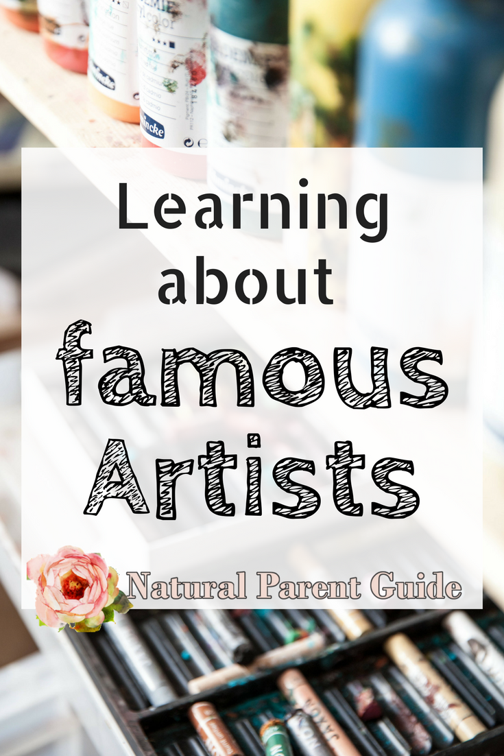 Photo of Get to Know the Great Artists – Natural Parent Guide